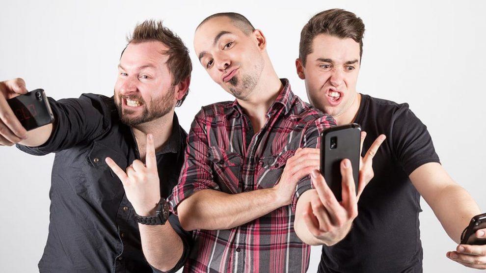 Fun noir - Trio Rock Francophone